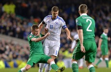 'The referee was 70-30 in favour of the Irish', says Edin Dzeko