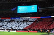 Wembley singing La Marseillaise tonight was truly a beautiful moment