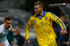 After sixth attempt in 18 years, Ukraine end play-off curse