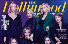 Here's why this magazine cover featuring eight white actresses has people talking