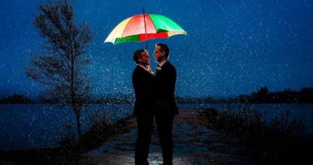 Check out this incredible image from one of Ireland's first same-sex marriages
