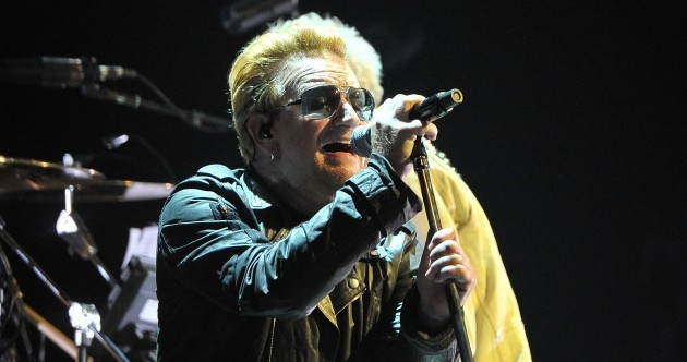 'We refuse to hate': U2 pay tribute to Paris and Syria at Belfast gig
