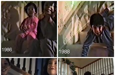 A dad filmed 25 years of his kids coming down the stairs at Christmas… here's where they are now