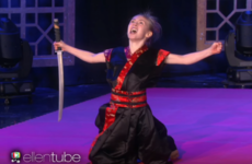 This 10-year-old Irish karate kid kicked ass on Ellen yesterday