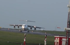 Terrifying video shows landing aborted at the last minute
