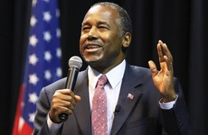 White House hopeful Ben Carson compares Syrian refugees to rabid dogs
