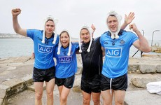 VIDEO: Dublin, Cork and Galway stars 'get freezin' for a reason' by taking polar plunge