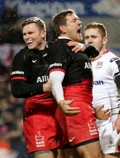 Goode grief: Ulster undone as Saracens claim bonus point in Belfast
