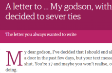 Everyone's talking about this *intense* open letter in today's Guardian