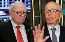 Buffett to Murdoch: I'll show you mine if you show me yours