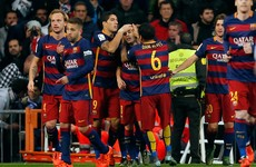 Suarez, Neymar star as Barca rout Real Madrid