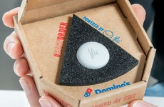 Dominos has brought its 'pizza button' to Ireland and it's going to make your life a lot easier