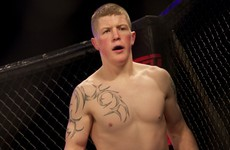 Irish fighter released by the UFC following consecutive defeats