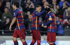Barcelona's MSN prove unstoppable as they hit Roma for six