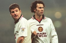 Ryan Giggs has chosen the best XI he's played with & included two Irishmen