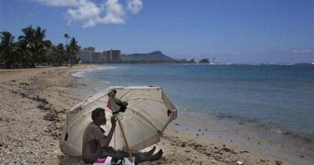 In photos: Living homeless in a Hawaiian paradise