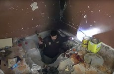 Inside Islamic State's network of underground tunnels, filled with drugs and ammunition