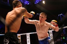 Paul Redmond has already taken the first step on his road back to the UFC