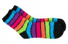 Girl sent home from school for wearing fluffy socks