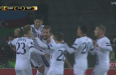 Red hot Harry Kane heads Spurs into the Europa League knockout rounds