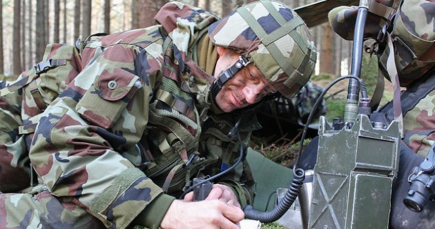 Pictures: 1,300 Irish soldiers take part in 'Dark Nights' exercise