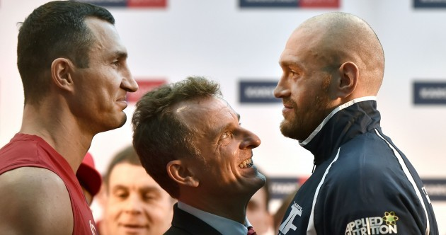 'Klitschko is a 40-year-old woman full of make-up': Fury gets personal before world title tilt