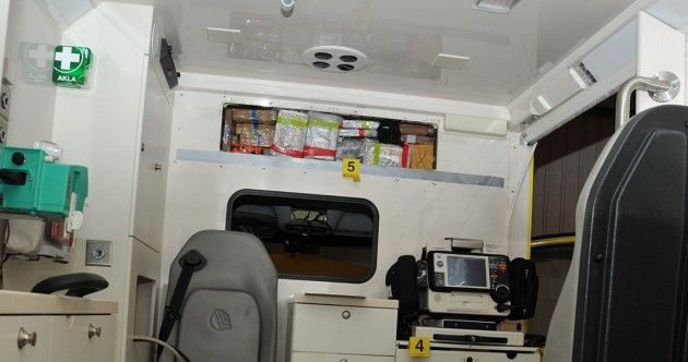 Gang used fake ambulances to smuggle heroin and cocaine worth €2.3 BILLION into UK
