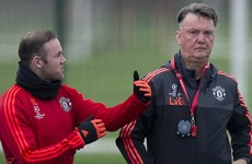 Van Gaal refuses to respond to Roy Keane criticism but insists Rooney IS playing well