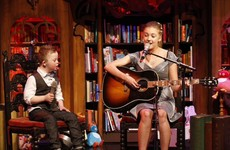 Here's Leah and Noah's heartwarming duet from the Toy Show, in full