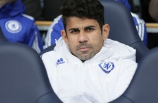 Diego Costa on collision course with Jose Mourinho after behaviour on Chelsea bench