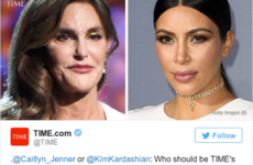 TIME Magazine asked if Kim Kardashian or Caitlyn Jenner should be 'Person of the Year'…