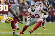 Odell Beckham Jr is not human and this insane touchdown catch proves it