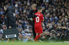 Liverpool's week just got a whole lot better as Klopp delivers positive injury update