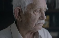 A Christmas ad with a difference: Grandfather 'dies' to get his family to visit him