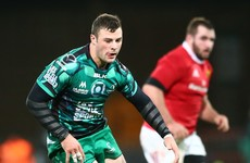 Robbie Henshaw out for up to six weeks with broken hand