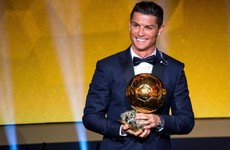 Ronaldo to battle it out with Barcelona pair as Ballon d'Or shorlist revealed