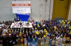Cigarettes and booze seized ahead of busy black market Christmas