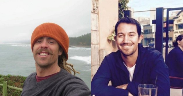 Missing Australian surfers' van found burnt out in drug cartel territory