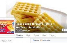 This Irish guy started a campaign to bring Birds Eye waffles to Australia and it's worked