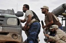 Libyan forces launch attack on Gaddafi stronghold