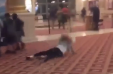 This woman's epic fall in the cinema is going mega, mega viral