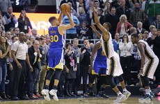 Golden State were in trouble last night – and then Steph Curry intervened