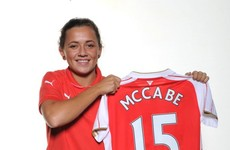 One of Ireland's brightest young footballers has joined Arsenal