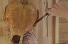 VIDEO: How to carve a turkey properly