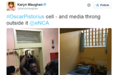 Oscar Pistorius cell shown to journalists in official prison tour