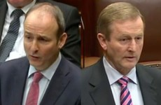'A cute hoor form of politics': Enda and Micheál had some strong words in the Dáil earlier