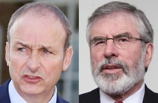 'We have said time and again that we're not going in with Sinn Féin'