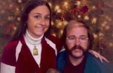 This couple sends out hilariously awkward Christmas cards every year