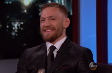 Conor McGregor sparkled on Jimmy Kimmel last night