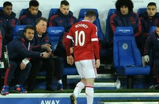 'Nasty' injury rules Rooney out of West Ham and LVG doesn't know when he'll return